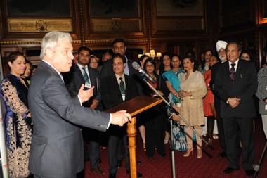 Mr Speaker's Welcome