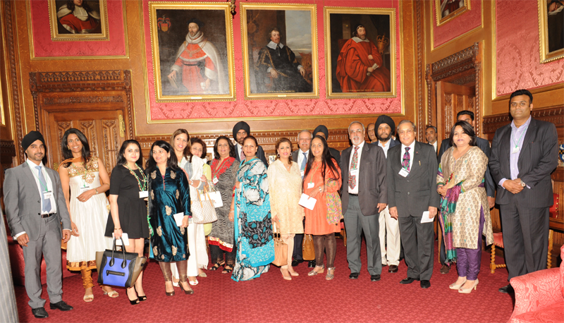 Guests relishing the grandeur of the State Rooms