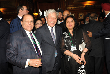 Mr Speaker with Guests