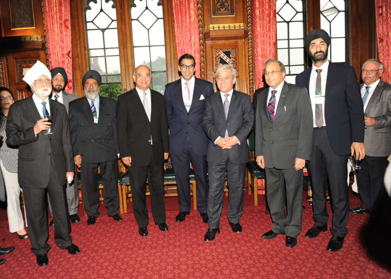 Mr Speaker with prominent members of the PSBI