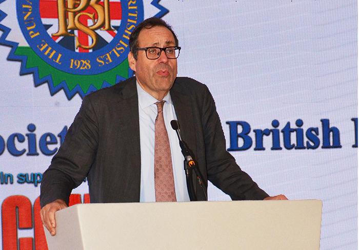 Hon. Richard Harrington MP sharing his affection and admiration of the Punjabi Community
